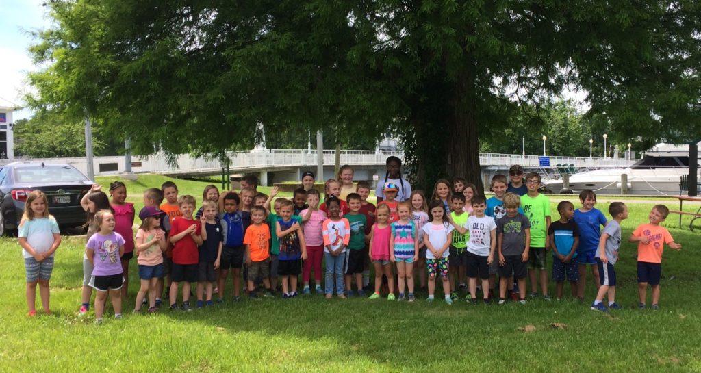 Summer camp kids group at Camp ROAR